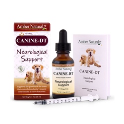 Canine DT support when treating for Canine Distmeper symptoms