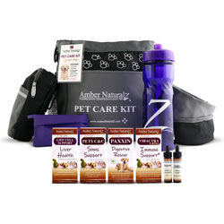 Organic Parvo Puppy Care Kit In A Travel Bag
