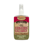 Hiker's Guard Insect Repellent Spray and Lotion are Deet-Free