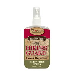 Hiker's Guard Deet-Free Insect Repellent Spray or Lotion