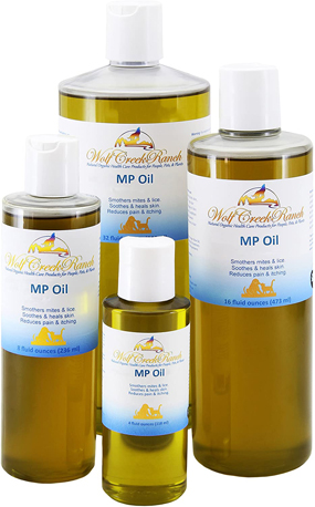 Mange Oil ~ Natural organic pet treatment remedy for skin parasites