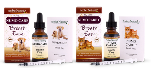 Numo Care is an organic natural respiratory formula for pets.