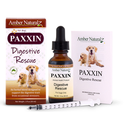 PAXXIN organic herbal nutraceutical which helps many puppies overcome Parvo.