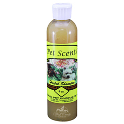 Pet Scents Herbal Shampoo concentrated formula