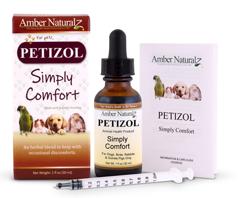 Petizol natural pain reliever for dogs