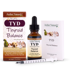 Organic TYD to help balance your pet's thyroid